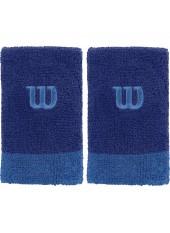 Напульсники Wilson Extra Wide Wristbands Maz Blue/Prince B