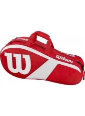 Wilson Match III 6 RK RD/WH