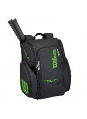 Wilson Tour V Backpack Large Bk/Lime