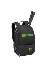 Wilson Tour V Backpack Medium Bk/Lime