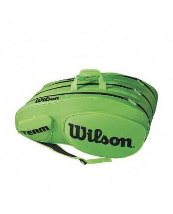 Чехол для теннисных ракеток Wilson Team III 12 RK GR/BK