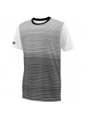 Wilson Jr B Team Striped Crew/Bk/White
