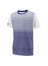 Wilson Jr B Team Striped Crew/Blue Depth