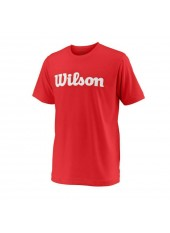 Wilson Jr Y Team Script Tech/Red/White