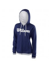 Wilson Jr Y Team Script FZ Hoody/Blue Depth
