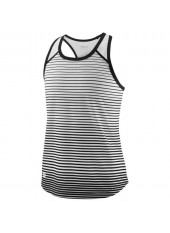 Wilson Jr G Team Striped Tank/Bk/White