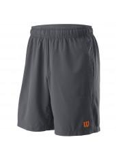 Wilson M UWII Woven 8 Short/Dk Grey/Dk Grey
