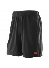 Wilson M UWII Woven 8 Short/Black/Pro St Red