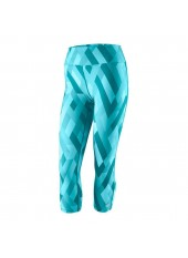 Wilson W Printed Tight/Blue Bird