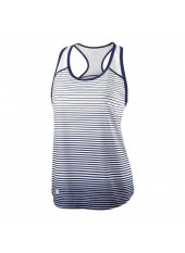 Wilson W Team Striped Tank/Blu Depth/White