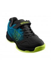 Теннисные кроссовки Wilson Stroke K  Hawaiian/Bk/Lime