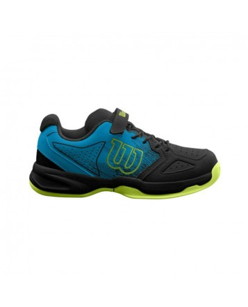 Кроссовки для тенниса Wilson Stroke K  Hawaiian/Bk/Lime детские