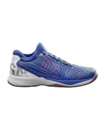 Кроссовки для тенниса Wilson Kaos 2.0 SFT Clay Cort Maz Bl/Wh/Neo мужские