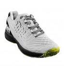 Теннисные кроссовки Wilson Kaos 2.0 Wh/Bk/Safety Yello
