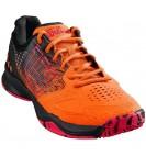 Теннисные кроссовки Wilson Kaos Comp Shock Ora/Bk/Neon