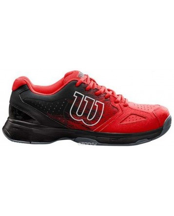 Кроссовки для тенниса Wilson Kaos Stroke Red/Bk/Wh мужские
