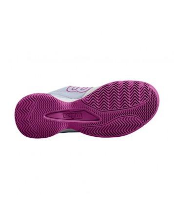 Кроссовки для тенниса Wilson Kaos Stroke Wh/Halogen Bl/Be женские