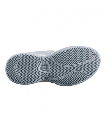 Кроссовки для тенниса Wilson Stroke K  Wh/Pearl Blue/Dazzelin детские