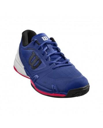 Кроссовки для тенниса Wilson Rush Pro 2.5 Maz Blue/Wh СС