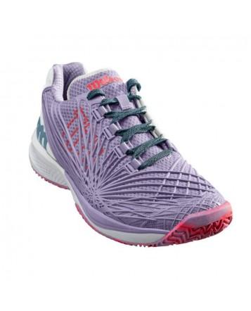 Кроссовки для тенниса Wilson Kaos 2.0 Lilac/Wh/Fiery Cor женские