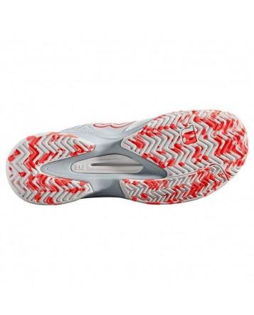 Кроссовки для тенниса Wilson Kaos Comp WH/Pearl Blue/Fier женские