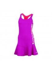 Платье Wilson W Spring Watercolor Racerback Dress/Fiesta Pink/Neon Red/Wh