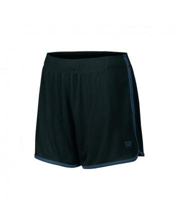 Шорты Wilson W Mesh 2-In-1 Tennis 3,5 Short/Black/Graphite