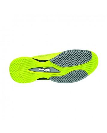 Кроссовки Wilson Rush NGX HC Pewter/Solar Lime/ Black
