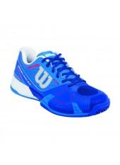 Кроссовки Wilson Rush Pro 2.0 HC Nept/Blue Iris/Neon Red