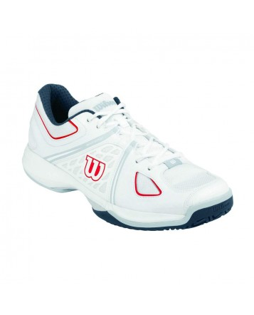 Кроссовки Wilson NVISION HC Whit/Peal Grey/Coal/Red