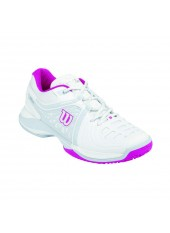 Кроссовки Wilson NVISION ELIT HC Whit/Peart Grey/Fiesta Pink