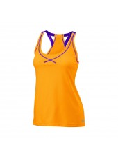 Топ Wilson W Spring Mesh Boyfriend Tank/Orange Pop/Plumb