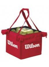 Сумка для мячей Wilson Teaching Cart red