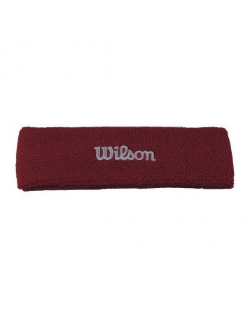 Повязка на голову Headbands Wilson Red