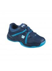 Теннисные кроссовки Wilson ENVY JR Deep Water/Navy/Scuba Blue