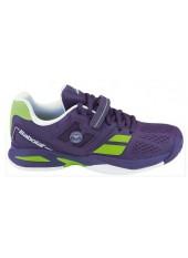 Детские кроссовки для большого тенниса Babolat Propulse AC Wimbledon