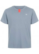 Wilson Jr Summer Henley/Tradewinds/Hot Coral