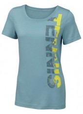 Wilson Jr Tennis Tech Tee/Aqua