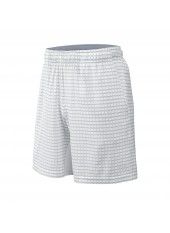 Мужские шорты Wilson M Spring Outline 8 Short/White/Pearl Grey