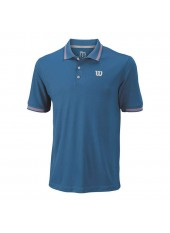 Wilson M Star Tipped Polo/Deep Water