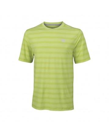 Футболка Wilson M Star Blur Crew/Green Glow/Green Glow