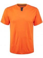 Футболка мужская Wilson M Summer UW Henley/Orange/Ebony