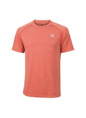 Wilson M Core Crew/Hot Coral/Peart Gre