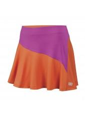 Женская юбка Wilson W Star Bonded 13,5 Skirt/Nasturtium/Rose Violet