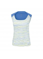Женский топ Wilson W Star Striated Tank/White/Regatta