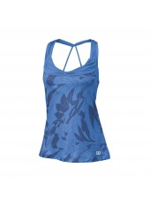 Женский топ Wilson W Spring Art Athletic Tank/Regatta/Marlin