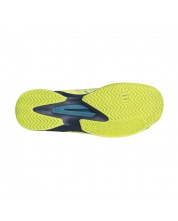 Мужские кроссовки Wilson Kaos Lime Punch/Navy Blazer
