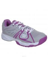 Теннисные кроссовки Wilson Rush 2 Omni Grey/White/Fushia