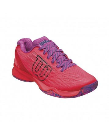 Кроссовки Wilson Kaos Fiery Coral/Fiery Red/Rose Violet