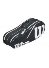 Чехол Wilson Advantage II Six Bag BKWH